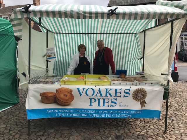 Voakes Pies Easingwold Farmer Market
