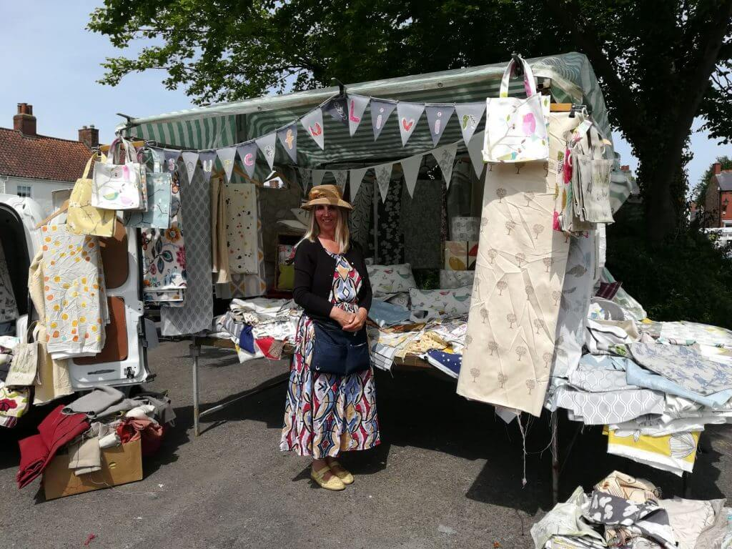 Fabric Stall Easingwold's Friday Market