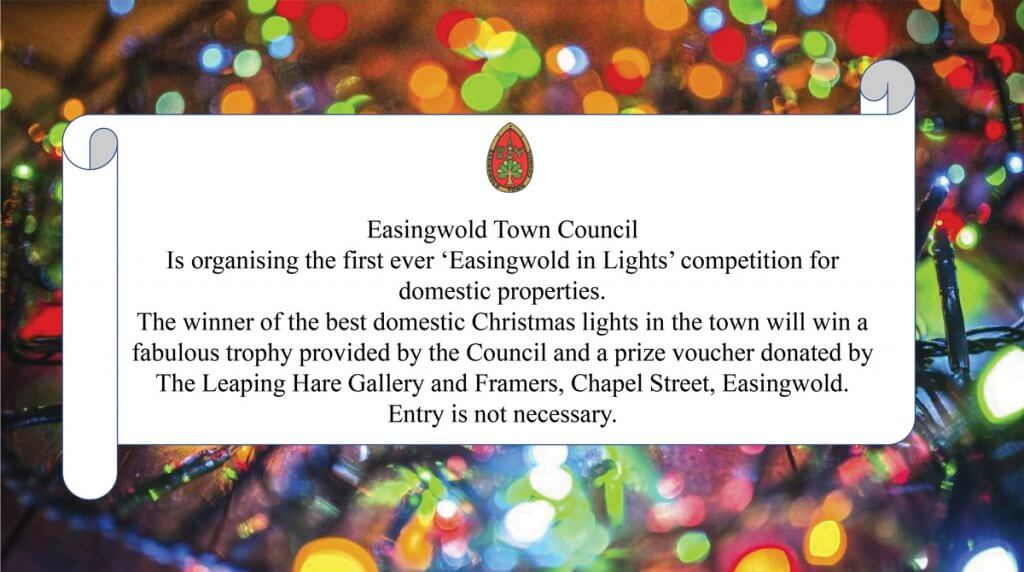 ETC - Easingwold In Lights Competition - Domestic